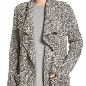 Eileen Fisher Alpaca Wool and Cotton Cardigan